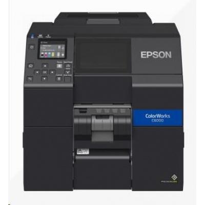 Epson ColorWorks CW-C6000Pe, peeler, disp., USB, Ethernet, black
