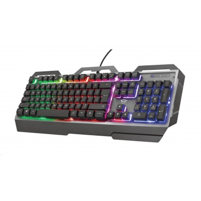 TRUST klávesnice GXT 856 Torac Illuminated Gaming Keyboard