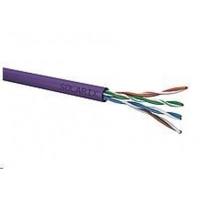 Instalační kabel Solarix UTP, Cat5E, drát, LSOH, box 500m SXKD-5E-UTP-LSOH