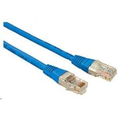 Solarix Patch kabel CAT5E UTP PVC 3m modrý non-snag-proof C5E-155BU-3MB