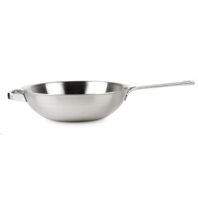 Domo HT1006 Nerezová pánev wok 30 cm Healthy & tasty