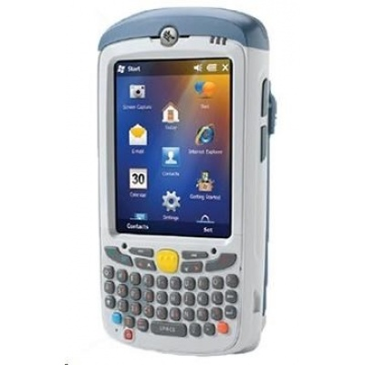 Zebra MC55X, 2D, USB, Wi-Fi, QWERTY, disp., bílá