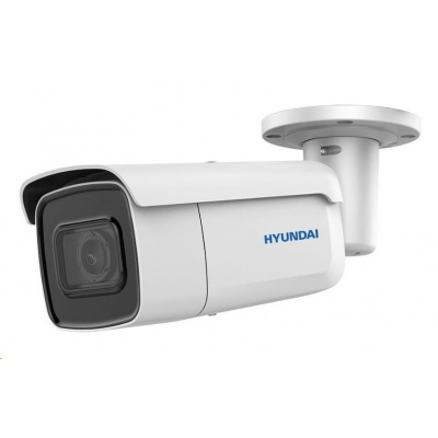 HYUNDAI IP kamera 4Mpix, H.265+, 25 sn/s, obj. 2,8-12mm (100°), PoE+, audio, DI/DO, IR 50m, WDR 120dB, mSD, analyt, IP67