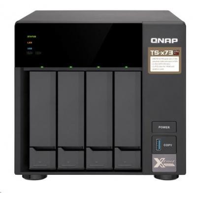QNAP TS-473-8G (4C/RX-421ND/2,1-3,4GHz/4GBRAM/4xSATA/2xM.2/4xGbE/4xUSB3.0/2xPCIe)