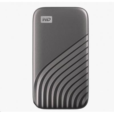 SanDisk WD My Passport SSD externí 2TB , USB-C 3.2 ,1050/1000MB/s R/W PC & Mac ,Space Gray