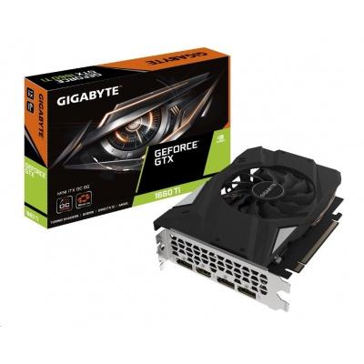 GIGABYTE VGA NVIDIA GeForce GTX 1660 Ti MINI ITX OC 6G, 6GB GDDR6, 1xHDMI, 3xDP, mini-ITX