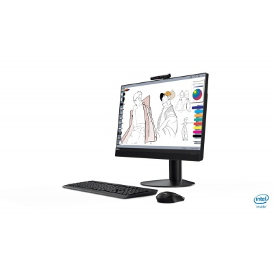 """LENOVO PC ThinkCentre AiO M920z i5-9500 8GB 23.8"""" FHD mult-touch 256GB SSD UHD 630 Integrated DVD Win10PRO 3r OnSite"""