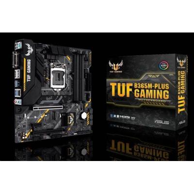 ASUS MB Sc LGA1151 TUF B365M-PLUS GAMING, Intel B365, 4xDDR4, VGA, mATX