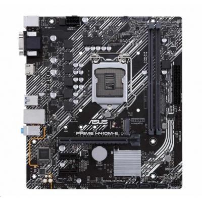 ASUS MB Sc LGA1200 PRIME H410M-E, Intel H410, 2xDDR4, VGA, mATX