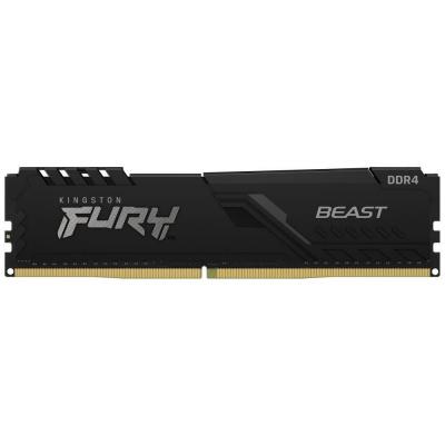 DIMM DDR4 16GB 3000MHz CL15 1Gx8 KINGSTON FURY Beast Black