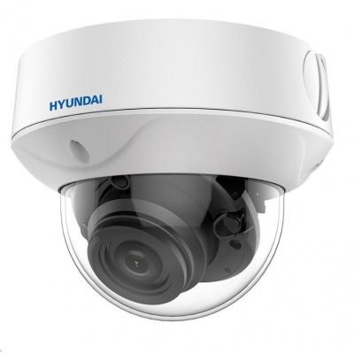 HYUNDAI analog kamera, 2Mpix, 25 sn/s, obj. 2,7-13,5mm (100°), HD-TVI, DC12V/PoC, IR 60m, IR-cut, WDR 130dB, 3DDNR, IP67
