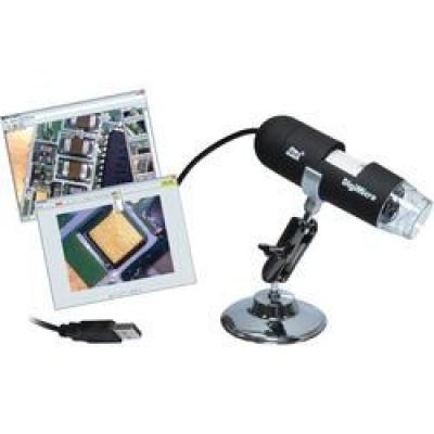 CONRAD USB mikroskop TOOLCRAFT DigiMicro 2.0 Scale TO-5139591, Digitální zvětšení (max.): 200 x