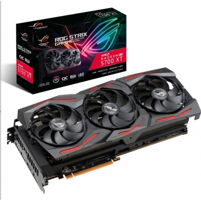 ASUS VGA AMD Radeon™ ROG-STRIX-RX5700XT-O8G-GAMING, 8GB GDDR6, 1xHDMI, 3xDP