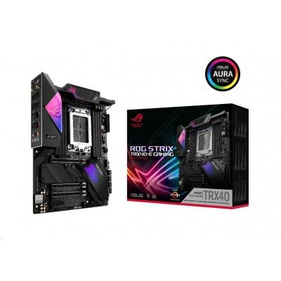 ASUS MB Sc sTRX4 ASUS ROG STRIX TRX40-E GAMING, AMD TRX40, 8xDDR4, Wi-FI