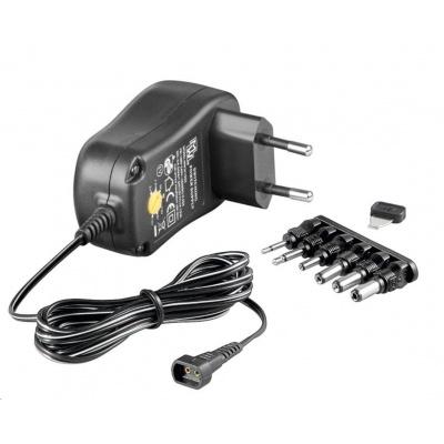 Goobay Univerzální napájecí adaptér 230V/3-12V stejnosměrný 600mA