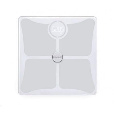 UMAX váha Smart Scale US10C chytrá osobní váha - bluetooth, maximální zátěž 180kg