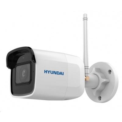 HYUNDAI IP kamera 4Mpix, H.265+, 20 sn/s, obj. 2,8mm (110°), DC12V, audio in, IR 30m, IR-cut,Wi-Fi, WDR digit, mSD, IP66