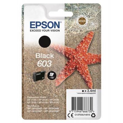 "EPSON ink čer Singlepack ""Hvězdice"" Black 603 Ink"