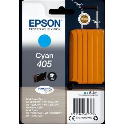 EPSON ink Singlepack Cyan 405 Durabrite Ultra