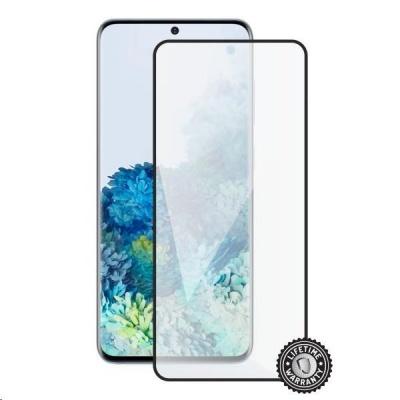 Screenshield ochrana displeje Tempered Glass pro SAMSUNG G985 Galaxy S20+, full cover, černá