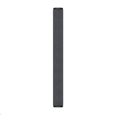 Garmin řemínek pro Enduro - UltraFit 26, nylonový, šedý, na suchý zip