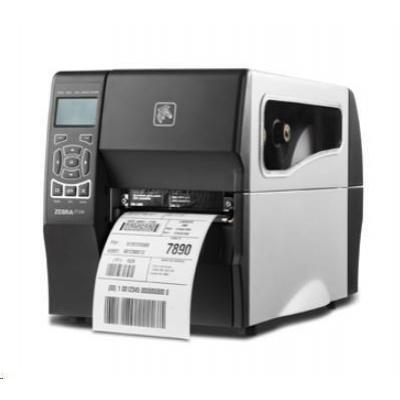 Zebra ZT230, 8 dots/mm (203 dpi), řezačka, display, EPL, ZPL, ZPLII, USB, RS232, Ethernet