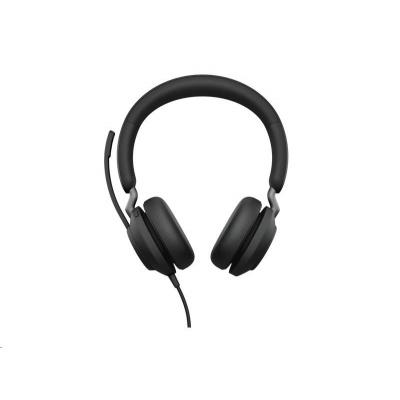 Jabra náhlavní souprava Evolve2 40, USB-A, MS, stereo