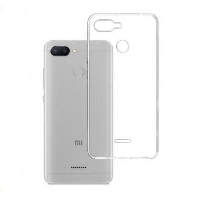 3mk ochranný kryt Clear Case pro Xiaomi Redmi 6, čirý