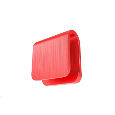 Antikamera - krytka na webkameru pro NTB, iPad a tablet, červená