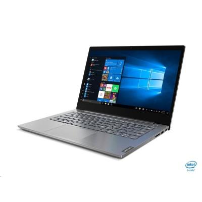 "LENOVO NB ThinkBook 14-IIL - i3-1005G1@1.2GHz,14"" FHD IPS mat,8GB,256SSD,noDVD,HDMI,USB-C,cam,backl,W10H,1r carryin"