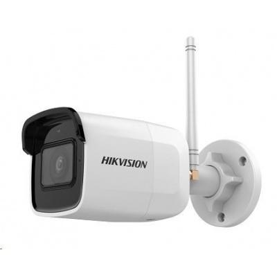 HIKVISION IP kamera 5Mpix, 12sn/s, obj.4mm (75°), IR 30m, DC 12V, Wi-Fi, audio in, microSD,  H.264(+),H.265(+), IP66