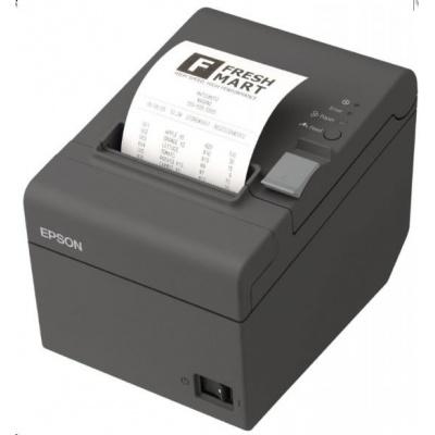 EPSON TM-T20II pokladní tiskárna, USB/LAN, 8 dots/mm (203 dpi), řezačka, tmavá