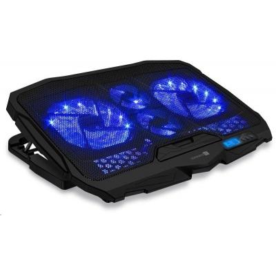 CONNECT IT Chladící podložka pod notebook, černá