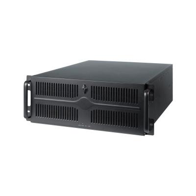 CHIEFTEC skříň Rackmount 4U ATX/EATX UNC-411E-B-50R, 2x 500W, Black