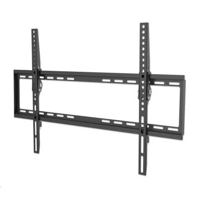 """MANHATTAN nástěnný držák TV (37"""" to 70""""), Low-Profile TV Wall Mount, tenký design, černá"""