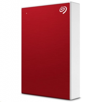SEAGATE externí HDD One Touch Portable 5TB USB 3.2 Gen 1 Red