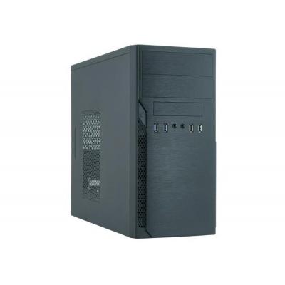CHIEFTEC skříň Elox Series / Minitower, HO-12B-OP, Black, bez zdroje