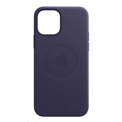 Apple iPhone 12 mini Leather Case with MagSafe - Deep Violet