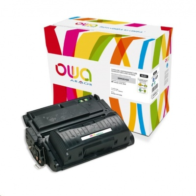 OWA Armor toner pro HP Laserjet 4250, 4350, 20000 Stran, Q5942X, černá/black