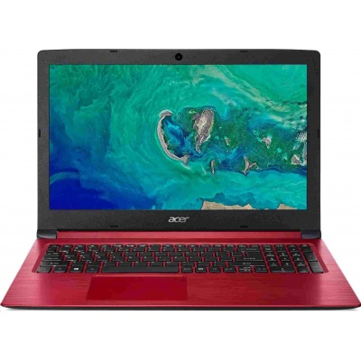 """ACER NTB Aspire 3 A315-34-P8NY - 15.6"""" FHD,N5000@1.1GHz,8GB,256GB SSD,UHD Graphics 605,W10H,červená"""