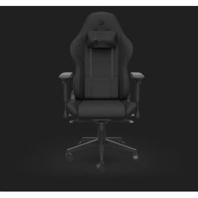 SPC Gear herní židle SR600F BK, textil, černá
