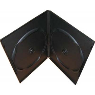 OEM Krabička na 2 DVD ultraslim 7mm černá (balení 100ks)