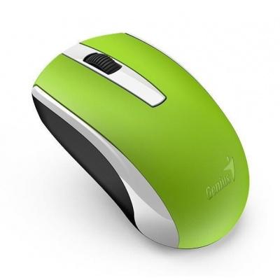 GENIUS myš GENIUS ECO-8100/ 1600 dpi/ dobíjecí/ bezdrátová/ zelená