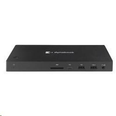 Toshiba OP USB-C Dock - 1x HDMI, 1xDP, 1xVGA, 1xLAN (RJ-45), 2xUSB-C