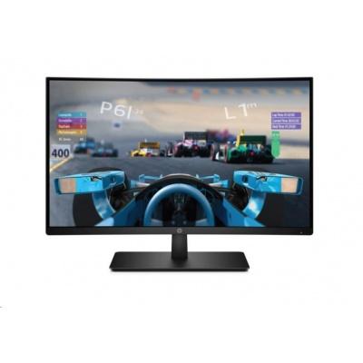 "LCD HP VA 27x Curved gaming LED backlight; 27"" matný; 1920x1080; 5ms; DisplayPort, HDMI - black"