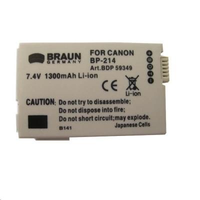 Braun akumulátor CANON BP-2L5, BP-2L14, 1500mAh
