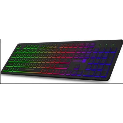 CONNECT IT kancelářská drátová podsvícená USB klávesnice, CZ + SK verze, černá