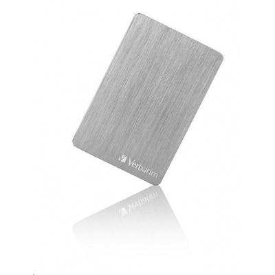 "VERBATIM HDD 2.5"" 1TB Store 'n' Go ALU Slim Portable Hard Drive USB 3.2, Space gray"
