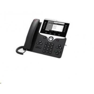 "Cisco CP-8811-3PCC-K9=, VoIP telefon, 10line, 2x10/100/1000, 5"" displej, PoE"