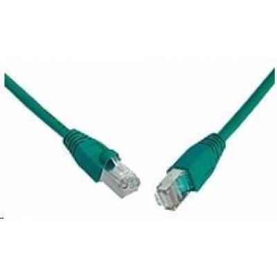 Solarix Patch kabel CAT6 SFTP PVC 5m zelený snag-proof C6-315GR-5MB